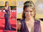 Renee Bargh playing Zena the Warrior Princess meets Troy. Very busy outfit - 6 'looks' in one.