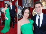 Emily Blunt - the only one in green this year? Very fresh.