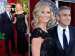 Gorgeous George and Stacy Keibler in Marchesa.