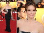 Tina Fey in Versace.