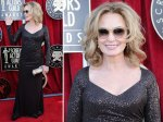 Jessica Lange - old school hollywood...except in daggier glasses.  A little 'I don't care, I'm fabulous anyway'?