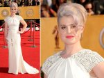 Kelly Osbourne - much better than the Globes outfit. Better cut. Better sleeve. Better.