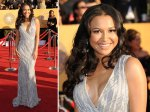 Naya Rivera from Glee - who needs bling when you have a dress like this?