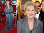 Meryl Streep - she rocks the grey tones. Awesome.