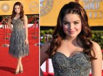 Ariel Winter from Modern Family - a bit of an older look than her Globes dress. Nice though.
